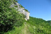 Onderweg naar cache Baume-Les-Messieurs