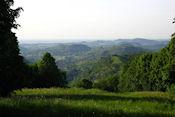 Uitzicht vanaf cache Bornay Tour #1: <<Sur Le Château>>