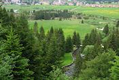 Uitzicht op de Doubs