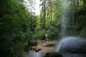 Waterval bij cache Le Templiers