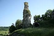 Ruines du château de Bainville-aux-Miroirs