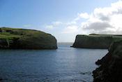 De baai bij Abercastle