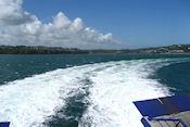 Naar open zee
