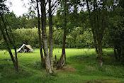 Sperrin Mountains campsite