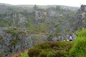 Wandeling naar Aberfoyle Bat Cave