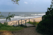 Strand bij Karkle
