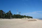 Strand bij Kolka