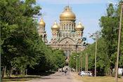 Russisch orthodoxe kerk in Liepãja