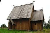 Oude stavkerk van Ekshärad