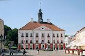 Het raadhuis van Tartu