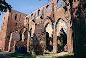 Ruןne van de kathedraal