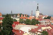 Uitzicht op Tallinn vanaf uitkijkpunt Patkuli