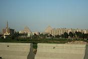 De piramides komen in zicht
