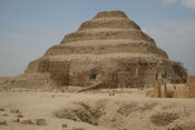 De trappenpiramide van Djoser