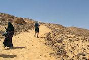 Onderweg naar de Kubbet el-Hawa
