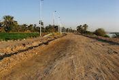 Langs de oostkant terug naar Aswan