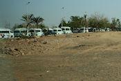 In konvooi naar Abu Simbel