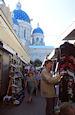 Markt achter de kathedraal
