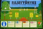 Russische grens bij Raate