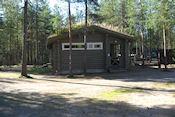 Sanitairgebouw camping Oulanka