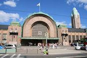 Vooraanzicht station Helsinki