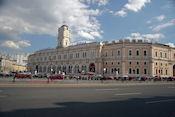Moscow station aan het Vosstaniya plein
