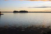 Russfjärden vanaf Kvarnådammen