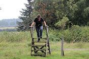 Wandeling in natuurgebied bij Karlstadt