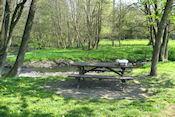 Picknickplek bij Rouette in België