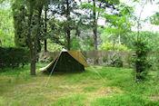 Camping de la Falaise bij Balazuc