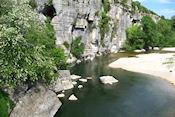 Ardèche bij Ruoms