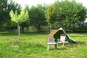 Camping Lou Badareu bij Cucuron