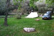 Camping La Camassade in Tourrettes-sur-Loup
