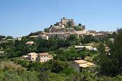 Uitzicht op Le Baroux