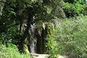 Waterval bij Aubres
