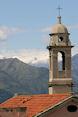 Kerktoren in Ventimiglia