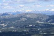 Uitzicht vanaf de col du Lachens