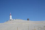 Bijna op de top van de Mt. Ventoux