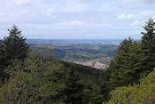 Uitzicht vanaf Tête des Cuveaux