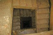 Trap in bunker bij Boulay-Moselle