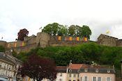 Chateau des ducs de Lorainne in Sierck-les-Baines