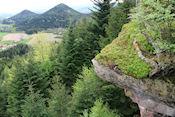 Uitzicht vanaf La Roche de Thoné