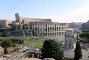 Colosseum gezien vanaf de Palatijn