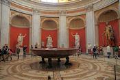 Grote koepelzaal met schaal/bad van 13 m doorsnede