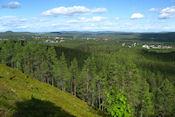 Uitzicht op Jokkmokk