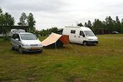 Camping Hietajoki met Aloys en Femma