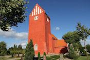 Kerk in Nørre Alslev
