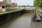 Sluis in Göta kanal  bij Söderköping