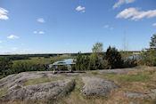 Uitzichtpunt in natuurreservaat Hjälstaviken