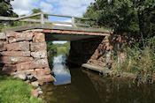Mooie oude brug onderweg